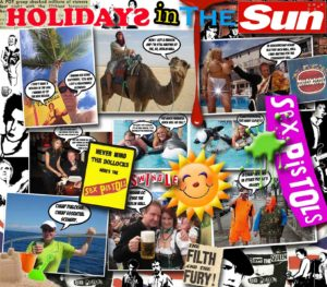 low HOLIDAYS IN THE SUN SEX PISTOLS POSTER3